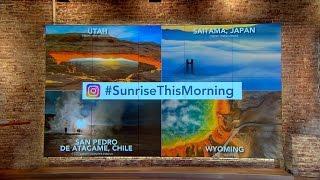 Submit your #SunriseThisMorning photos