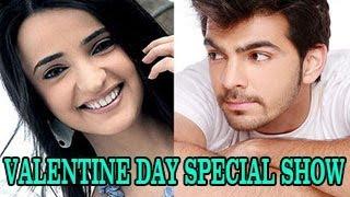 Sanaya Irani & Karan V Grover HOST VALENTINE DAY SPECIAL SHOW on ZEE TV 10th February 2013