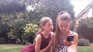 Yoga challenge - sisters - funny yoga!