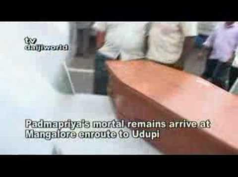 Xxx Mp4 Padmapriya S Mortal Remains Arrive At Mangalore 3gp Sex