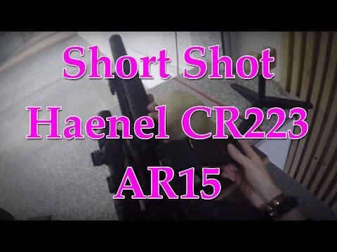 Short Shot: Haenel AR15 mit Schalldämpfer