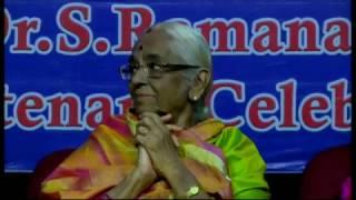 Dr.S. Ramanathan's Centenary Celebrations   S. Sowmya & P. Unnikrishnan   Vocal Duet   Live
