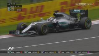 Hamilton VS Rosberg - Final Lap - Austrian Grand Prix 2016