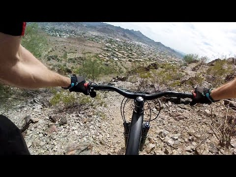 GoPro: Josh Haddock - Hiking Trail, Arizona 9.13.16 - Bike