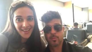 Robin Thicke & Tara Sharma - Fun Selfie | The Tara Sharma Show | Season 4