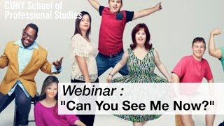 Webinar:  Can You See Me Now?