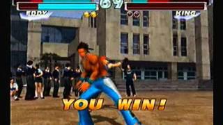 tekken tag tournament eddy gordohwoarang arcade playthrough