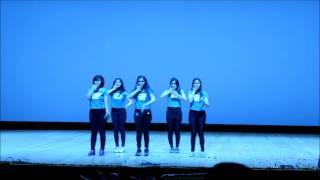 abhivyanjana 2k16 group dance(first runner up)- hip hop and bollywood