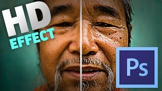 How To Make a Photo HD [Photoshop CC Tutorial]