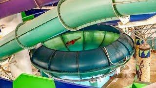 Kalahari Resort Poconos - Tanzanian Twister   Space Bowl Trichterrutsche Onride POV