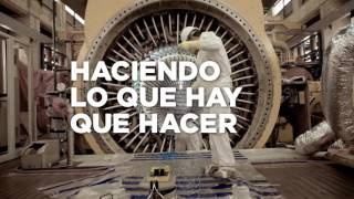 Obras en la Central Nuclear de Córdoba