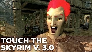 Touch the Skyrim Ep. 9: Nick and Griffin create a COOL BRONTOSAURUS