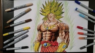 Drawing Broly ► The Legendary Super Saiyan [Dragon Ball Z]