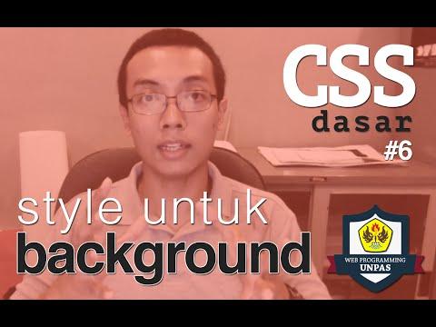 CSS Dasar - 6 - Background