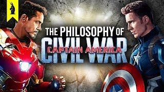 The Political Philosophy of Captain America: Civil War – Wisecrack Edition