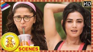Size Zero Telugu Movie Scenes | Anushka gets jealous about Sonal Chauhan | Arya | Telugu Filmnagar