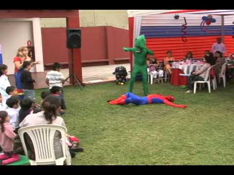 Sonrisas show Show del Hombre Araña