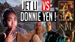 JET LI VS DONNIE YEN REACTION !!!! | WTtheGamer