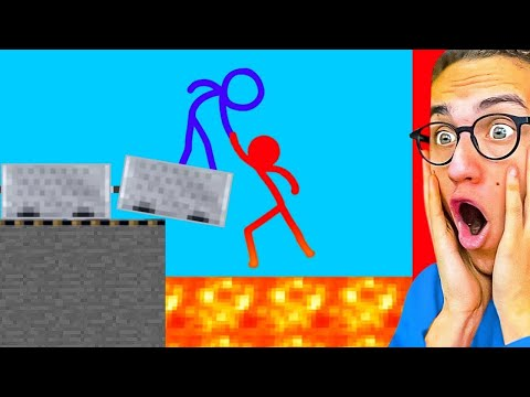 Reacting To AMAZING STICK FIGHT ANIMATIONS