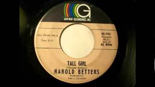 Harold Betters - Tall Girl (1966)