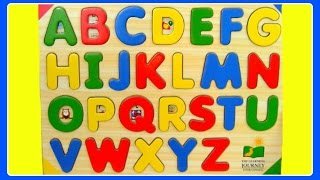 Learn ABC Alphabet Letters!  Fun Educational ABC Alphabet Video For Kindergarten, Toddlers, Babies