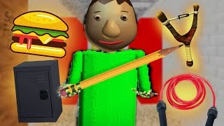 SECRET UNUSED CONTENT AND CHARACTER FOUND!   Baldis Basics in Education and Learning SECRET CONTENT