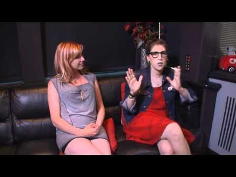 Mayim Bialik and Kari Byron Comic Con Interview