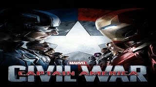 Capitan America Civil War Pelea En el Aeropuerto HD