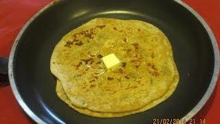 Aloo Paratha or Aaloo Paratha (in tamil)