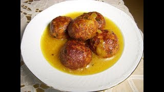 کوفته هلوی بروجردی Boroujerdi Style Meatballs | Koofte Holooye Boroojerdi