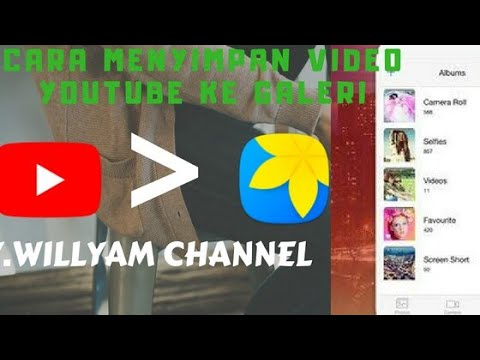 Tutorial Cara Menyimpan Video Youtube Ke Galeri Youtube