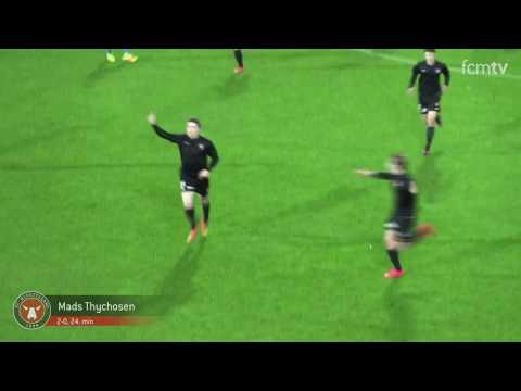 #UYL | Højdepunkter fra 4-0 over Malaga CF