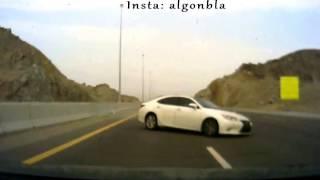 حادث اللكزس سرعة + تهور