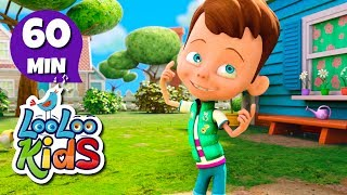 Head, Shoulders, Knees and Toes - GREAT Songs for Children | LooLoo Kids