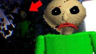 BALDI FOLLOWS US OUTSIDE OF THE SCHOOL! | Baldi