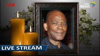 Special Official Memorial for Dr Skweyiya, 18 April 2018