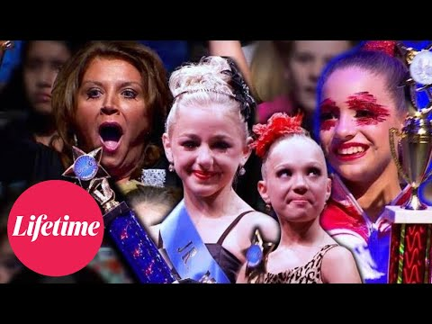 MOST UNEXPECTED WINS AND DRAMATIC UPSETS Dance Moms Flashback Compilation Lifetime