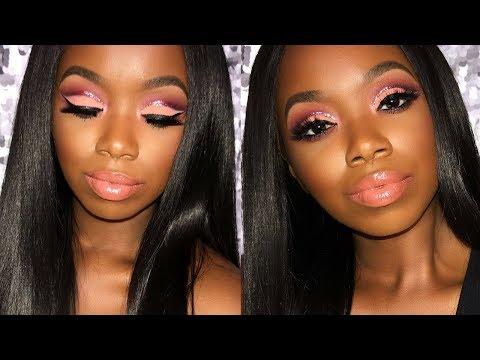 Xxx Mp4 Sexy Glitter Cut Crease ULOVEMEGZ WOC Makeup 3gp Sex