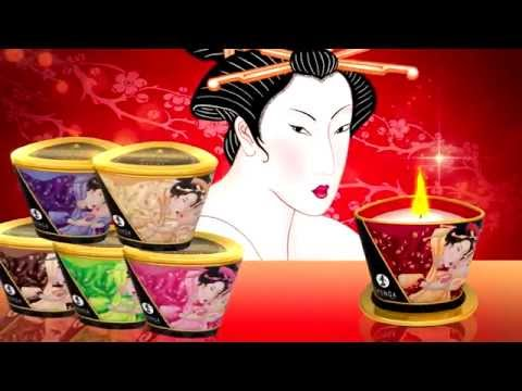 Shunga Erotic Art - Chandelle de massage