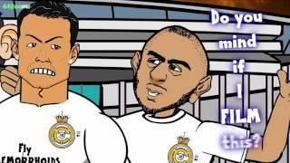 Messi vs Ronaldo RAP BATTLE! El Clasico 2016 Preview, Barcelona vs Real Madrid 1