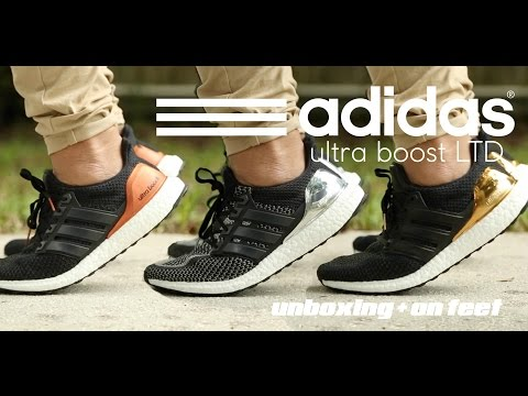 Adidas ultra Boost Ltd 'Olympic pack' unboxing   en los pies daikhlo