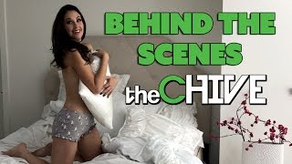 On Set with The Chive - Meg Turney
