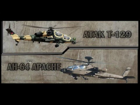 Atak T129 vs APACHE AH-64 (Karşılaştırması)
