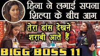 Bigg Boss 11: Hina Khan provokes Sapna against Shilpa Shinde  