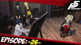 Persona 5 Playthrough Ep 26: Nude Paintings