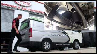 Product Review: Toyota HiAce LWB 2012 Air Suspension - RR4619 Airbag Man Leaf Helper Kit
