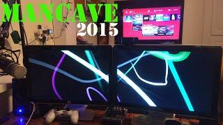 Man Cave Tour 2015