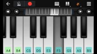 chalkata hamro jawaniya ye raja on piano keyboard Pawan Singh song
