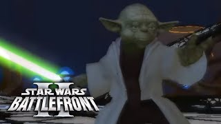 EA Star Wars Battlefront 2 Trailer recreated in Battlefront 2 2005