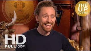 Tom Hiddleston interview on Early Man